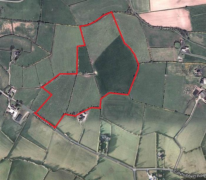 Circa 25 Acres adj 36 Tullyhubbert Road
